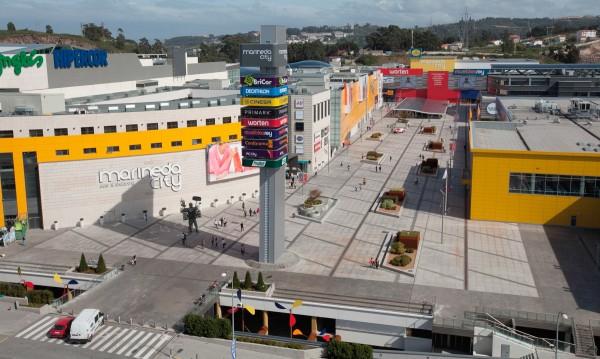 Vista del Centro Comercial Marineda City