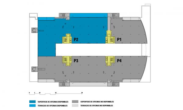 Plano de la tercera planta