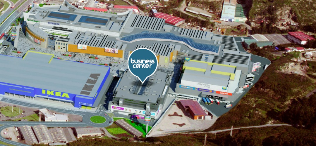 Vista aérea de Business Center Marineda City