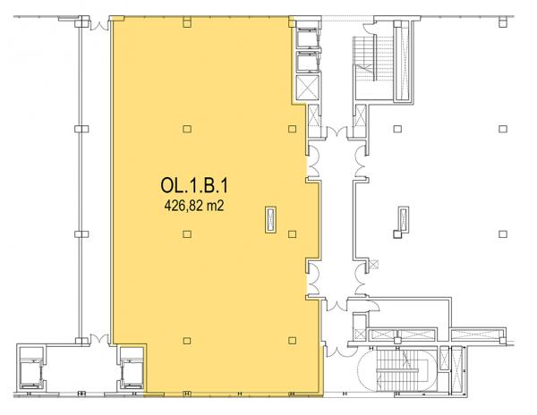Plano Oficina modelo 1